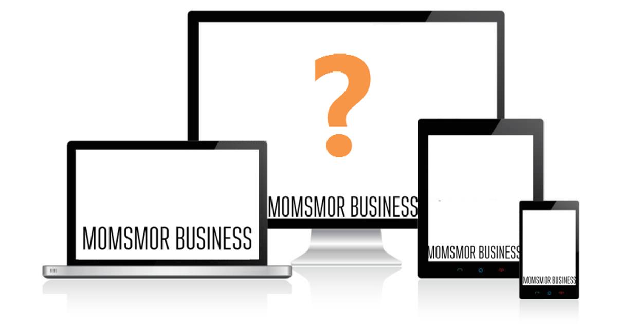 hvad er et responsiv website momsmor business