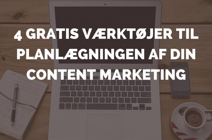 content marketing planlægning