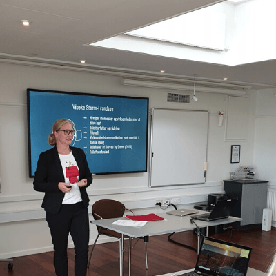 LinkedIn foredrag med Vibeke Storm-Frandsen fra Bureau by Storm