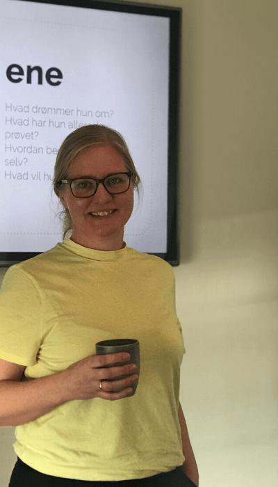 Content marketing workshop med Vibeke Storm-Frandsen